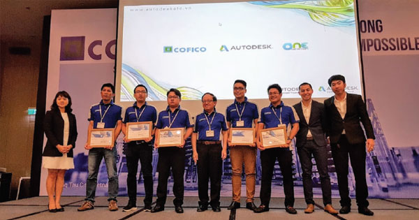 Trao chứng chỉ Autodesk Certified Professional tại Cofico Submit